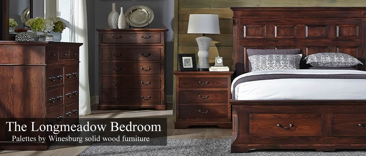Longmeadow Bedroom by Palettes by Winesburg