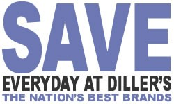 You always save at Diller's